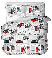 Бязь х/б для постельного белья напечатанная LONDON