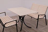 Комплект мебели Таи Стол+2 лавки( мебель для баров, ресторанов, кафе, садовая мебель)
