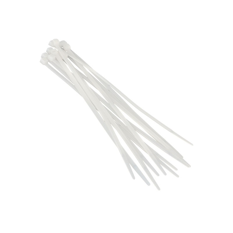 Хомуты пластиковые BELAUTO Белые 4,8x400 мм (W48400)