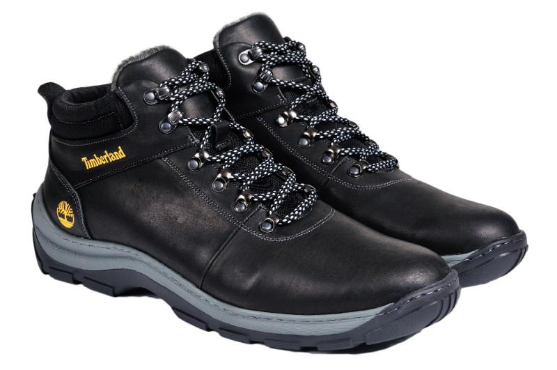 Мужские зимние ботинки с нат. кожи большого размера р. 46 47 48