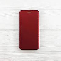 Чехол на iPhone X Книжка Aspor VIP глянцевый пластик для телефона Айфон 10 Красный