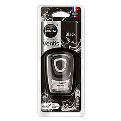Ароматизатор Aroma Car Ventis BLACK Блэк