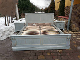 Двуспальная кровать «Прованс» с декором