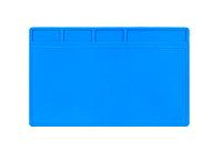 Мат силиконовый термоустойчивый AIDA S-110 для ремонта техники и раскладки запчастей (280x200mm)