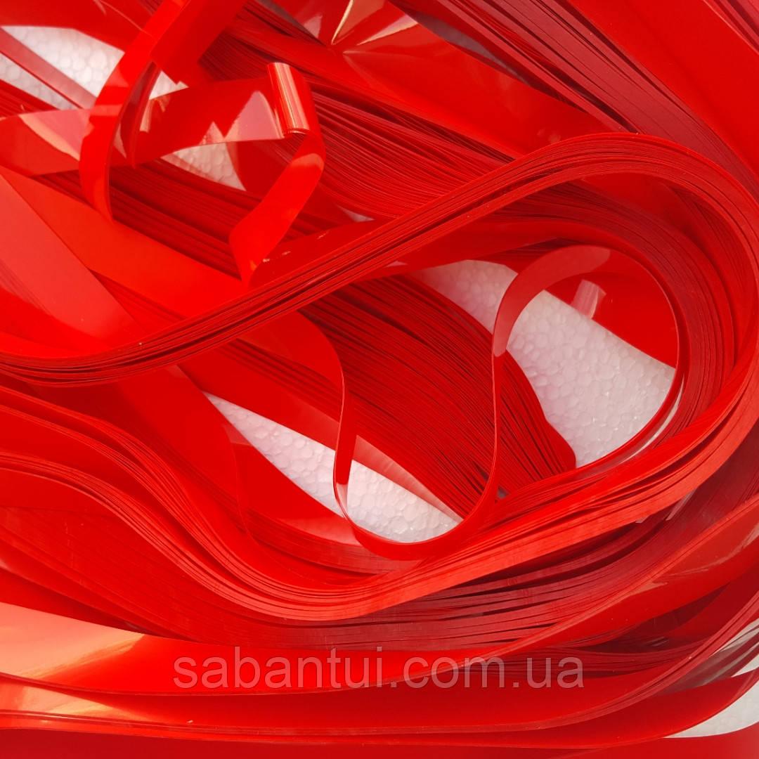 Красная пленка для бумажного шоу