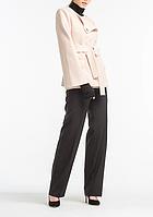 Пальто aLOT короткое 42 Молочно-бежевое 500059-42, КОД: 259410