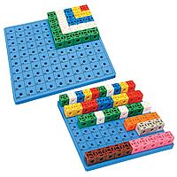 Доска для набора «Занимательные кубики» 1017C Gigo (1163)