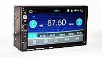 "Автомагнитола пионер Pioneer 8702 2DIN 7"" GPS короткая база Android 7.1, фото 3"