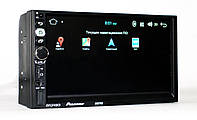 "Автомагнитола пионер Pioneer 8702 2DIN 7"" GPS короткая база Android 7.1, фото 5"