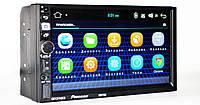 "Автомагнитола пионер Pioneer 8702 2DIN 7"" GPS короткая база Android 7.1, фото 2"