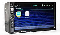 "Автомагнитола пионер Pioneer 8702 2DIN 7"" GPS короткая база Android 7.1, фото 4"