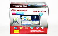 "Автомагнитола пионер Pioneer 8702 2DIN 7"" GPS короткая база Android 7.1, фото 10"