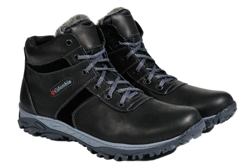 Мужские зимние ботинки с нат. кожи большого размера Town р. 46 47 48 49 50