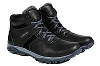 Мужские зимние ботинки с нат. кожи большого размера Town р. 46 47 48 49 50, фото 1