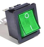 Кнопка, выключатель IRS-201-1C, тумблер 2 положения 4 контакта. 31*25 мм. 1 шт