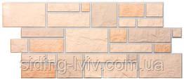 Фасадні панелі Dockе камінь Колекція BURG камінь ПЕСЧАНЫЙ 1,072*0,472, Дьоке фасадные панели камень