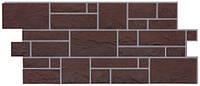 Фасадні панелі Dockе камінь Erdburg Земляной (Дьоке фасадные панели камень Земляной)