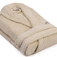 Махровый халат Beverly Hills Polo Club -355BHP1704 M/L krem кремовый