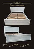 Односпальне ліжко «Прованс» з декором, фото 3