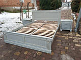 Односпальне ліжко «Прованс» з декором, фото 5