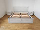 Односпальне ліжко «Прованс» з декором, фото 6