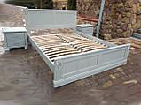 Односпальне ліжко «Прованс» з декором, фото 10