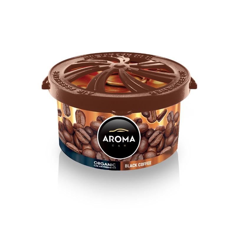 Ароматизатор Aroma Car Organic Black Coffe Черный кофе