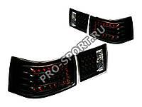 Задние тюнинг фонари ВАЗ 2110, 2112 светодиодные, черные