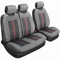 Авточехлы универсальные Beltex Comfort 2+1 Тип А серые без подголовников 53110