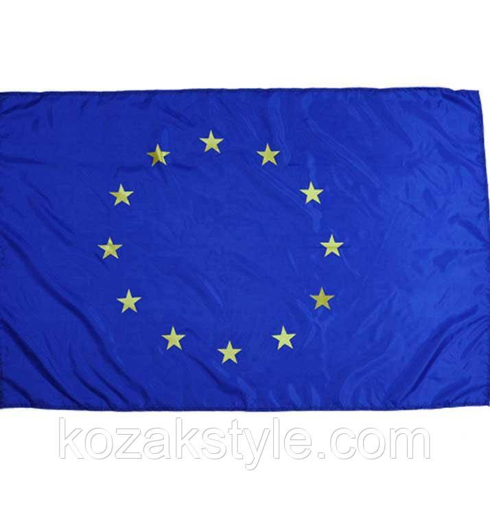 Прапор Євросоюзу нейлоновий (140х90 см) з люверсами