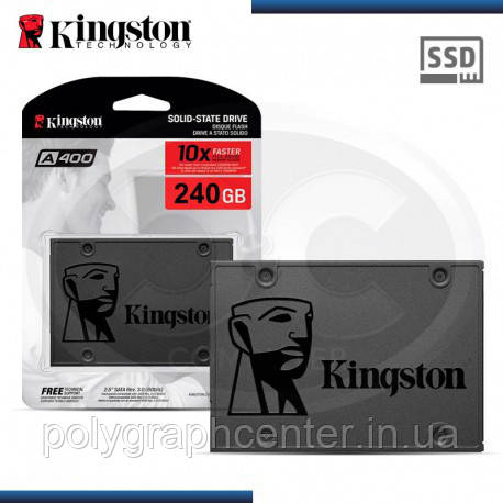 "SSD Kingston SSDNow A400 240GB 2.5"" SATAIII"