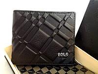 Мужское портмоне PaOLO Ardens (8157-1) коричневый 11x9см