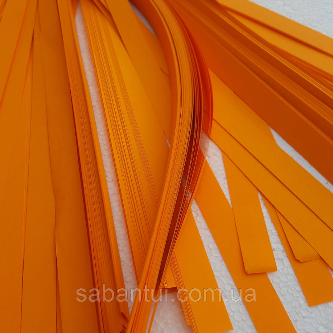 Оранжевая бумага для бумажного шоу