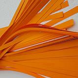 Оранжевая бумага для бумажного шоу, фото 3
