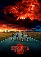 Картина GeekLand Stranger Things Очень странные дела постер 40х60 ST 09.002