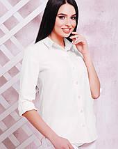 Женская классическая блузка-рубашка (1710 mrs), фото 3