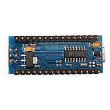Arduino Nano V3.0 (ATmega328/ch340g - MiniUsb - UART) 5 Ст. 16 мГц. з USB кабелем, фото 4