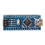 Arduino Nano V3.0 (ATmega328/ch340g - MiniUsb - UART) 5 Ст. 16 мГц. з USB кабелем, фото 5