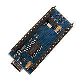 Arduino Nano V3.0 (ATmega328/ch340g - MiniUsb - UART) 5 Ст. 16 мГц. з USB кабелем, фото 6