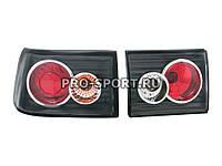 Задние тюнинг фонари ВАЗ 2110, 2112 прозрачные, черный