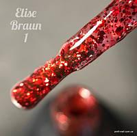 Гель лак Elise Braun № 001, 15 мл