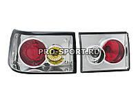 Задние тюнинг фонари ВАЗ 2110, 2112 прозрачные, хром