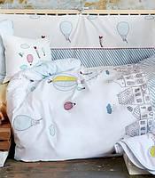 Постельное белье для младенцев Karaca Home - Balloon 2018 аппликация, фото 1