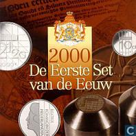 Нидерланды 2000. Официальный годовой набор монет