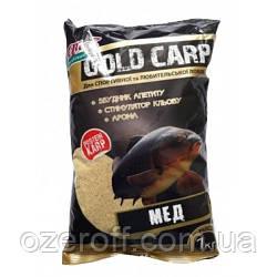 """Прикорм рибальський Короп """"GOLD CARP"""" - МЕД 1000 грам """"АЙ ПІДСІКАЙ"""""""
