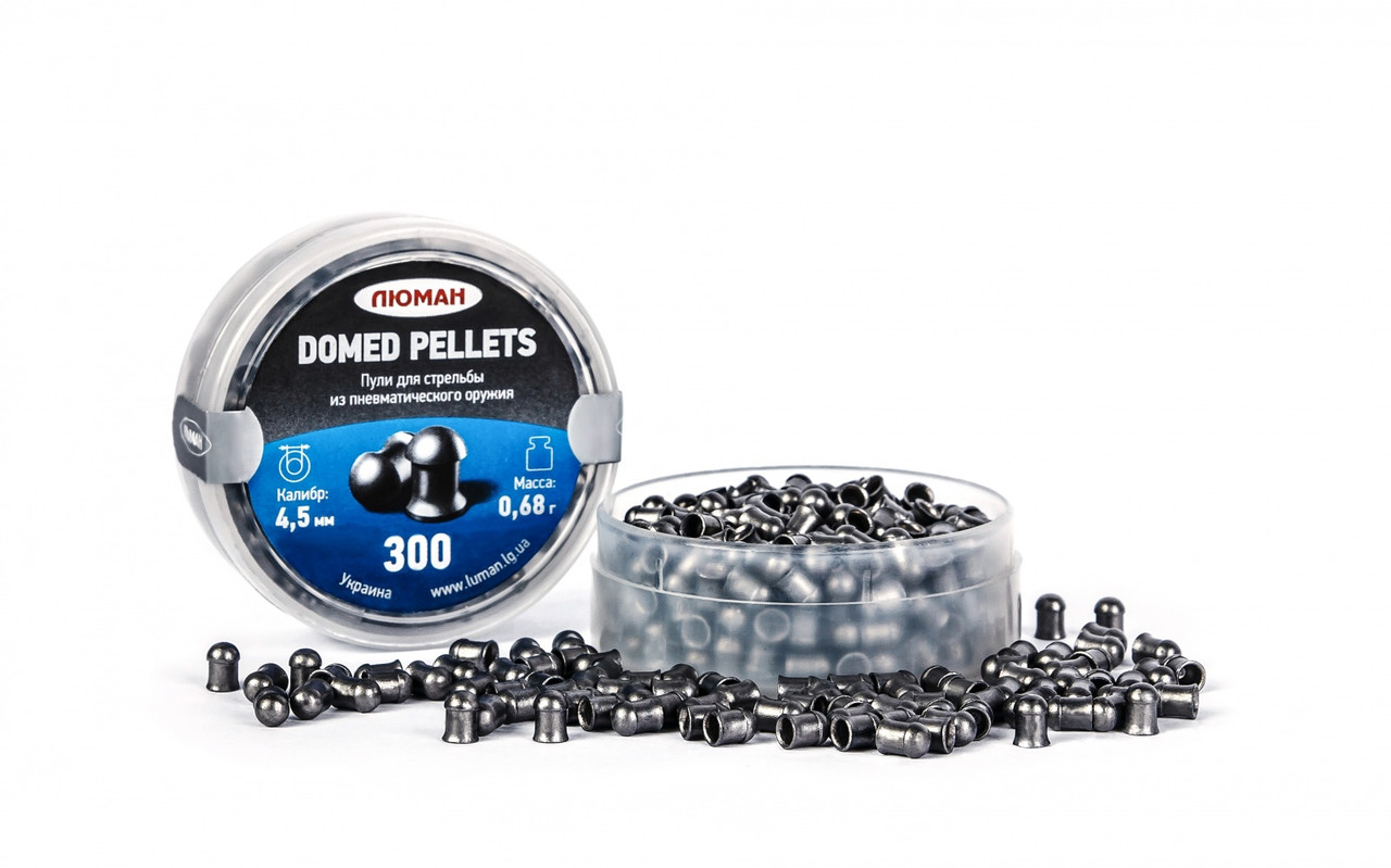 Luman Domed pellets(круглоголовая), 0,68 г. по 300 шт.