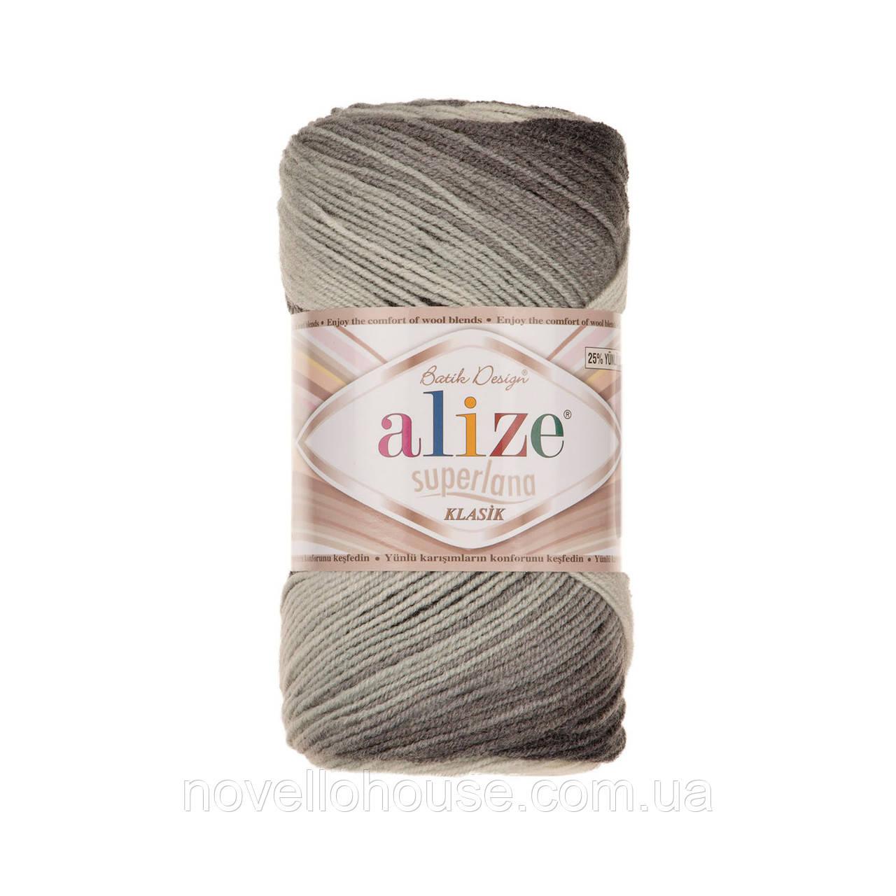 Alize Superlana Klasik Batik №1900: купить пряжу оптом и в