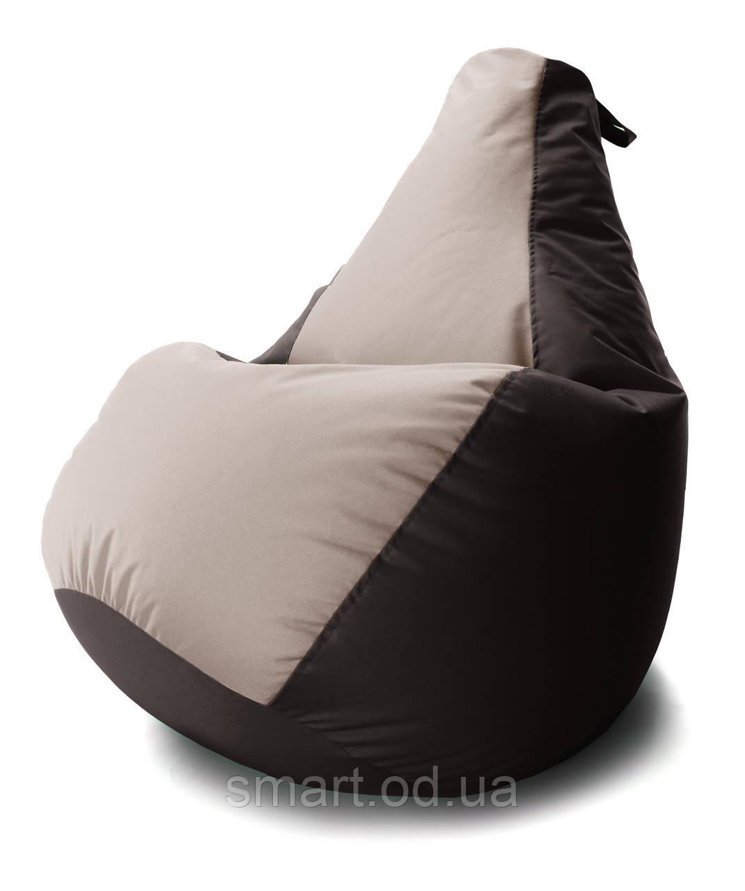 Кресло мешок груша Комби Оксфорд Стронг 100*140  см