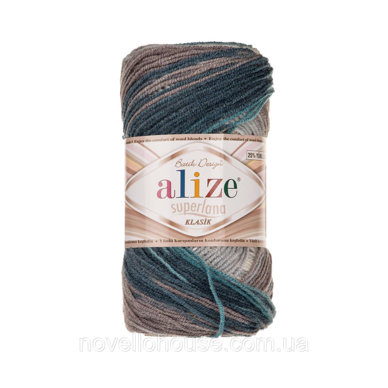 Alize Superlana Klasik Batik №4240: купить пряжу оптом и в