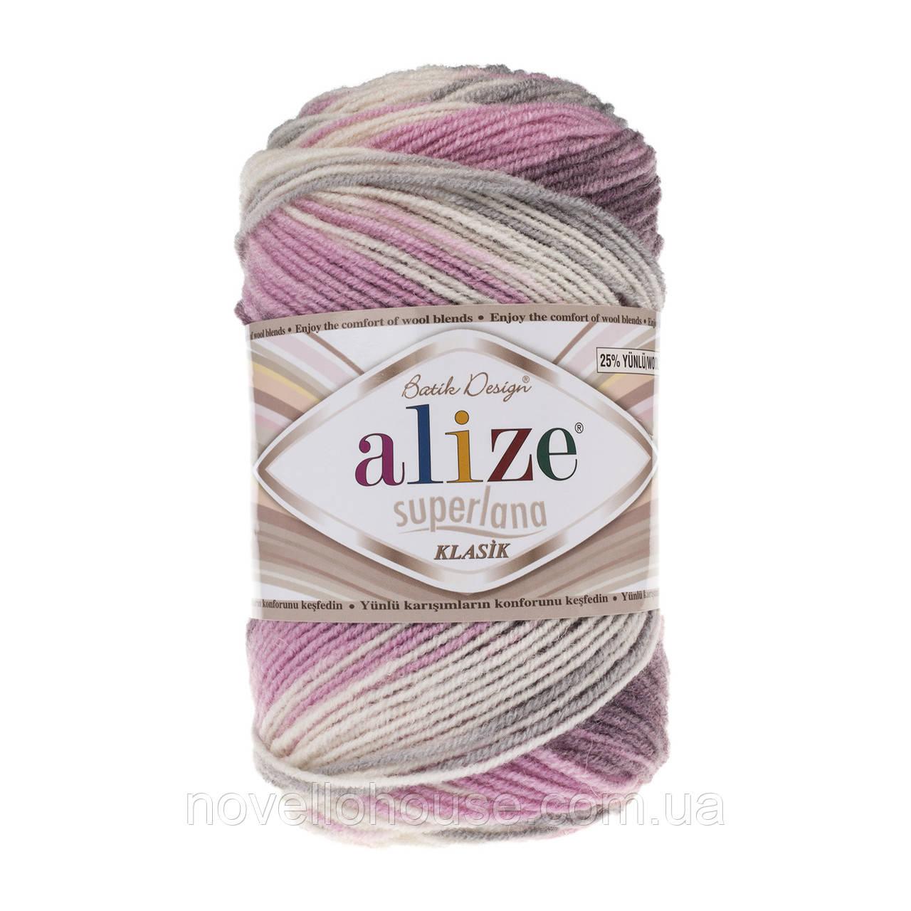 Alize Superlana Klasik Batik №6955: купить пряжу оптом и в